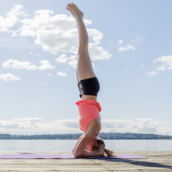 How to Work Your Way Up to a Yoga Headstand