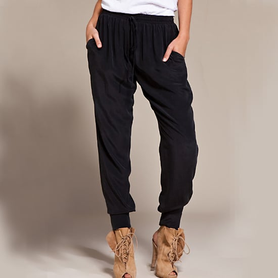 Perfect for dressing up, but so comfy in feather-weight silk.  Thakoon Addition Soft Shirt Pant, $495