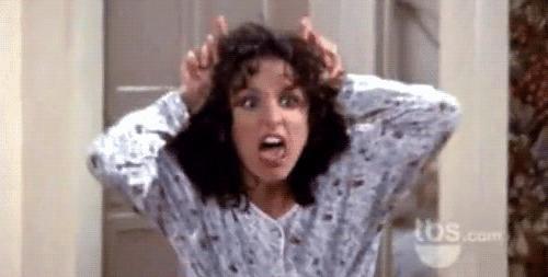 When Elaine Steals Puddy's Jesus Fish
