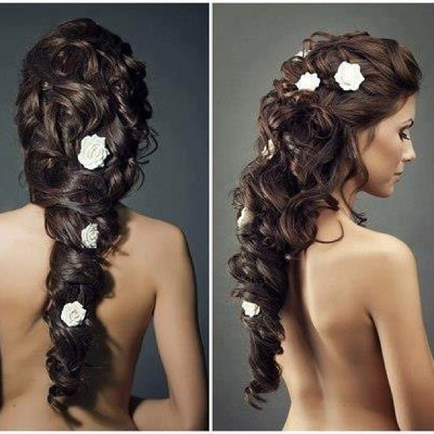 Brides could get some serious inspiration from this romantically curled style. Source: Instagram user adreamthatflies_