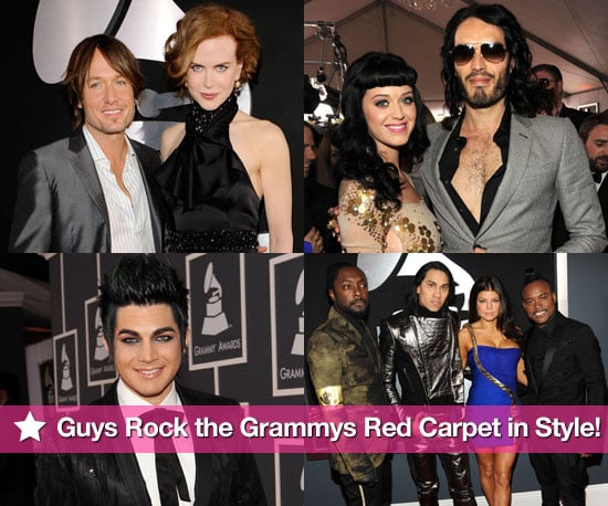 Guys Rock the Grammys Red Carpet in Style!