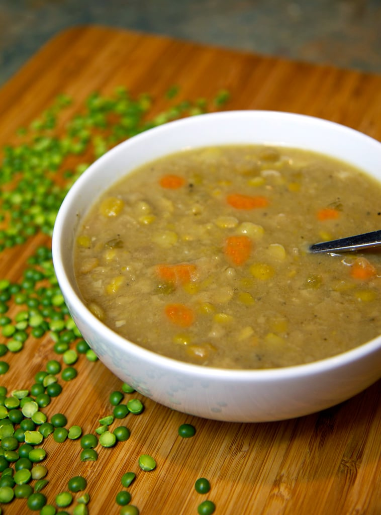 Sunday: Split Pea and Sweet Potato Soup