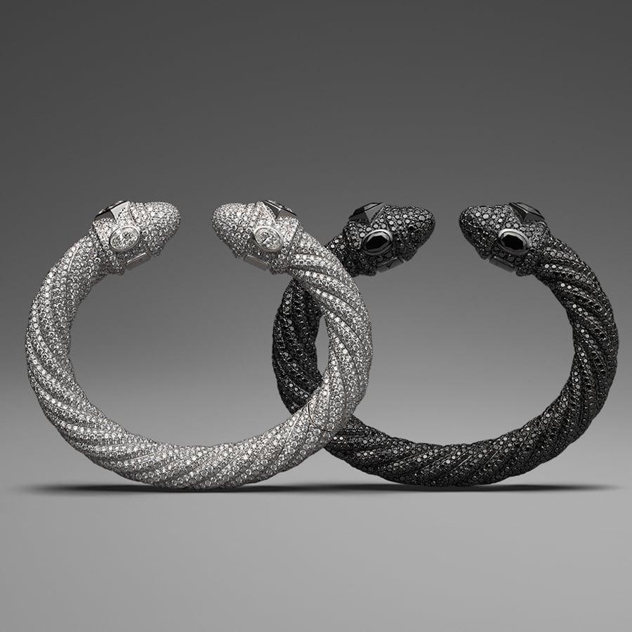 David Yurman Diamond Pavé Cable Bracelet