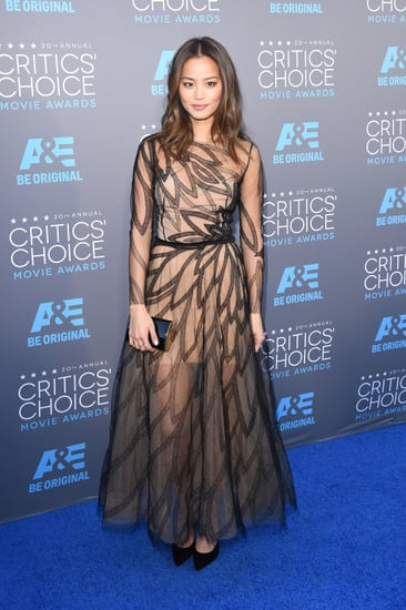 Sheer Dresses at the Critics' Choice Awards 2015