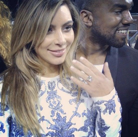 Kim Kardashian and Kanye West Engagement at ATT Park Details