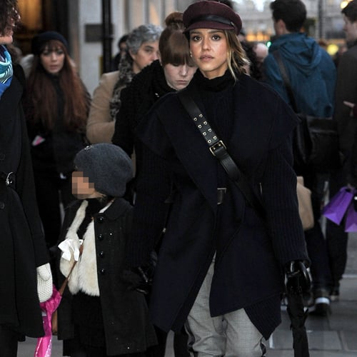 Jessica Alba Out and About in London