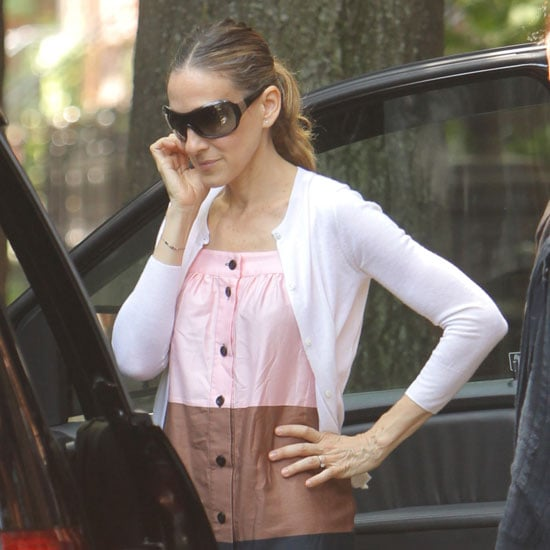 Pictures of Sarah Jessica Parker With Twins