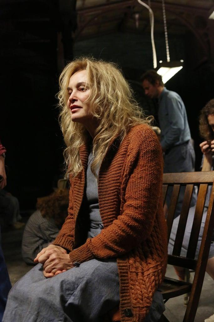 Lange as Sister Jude in Asylum