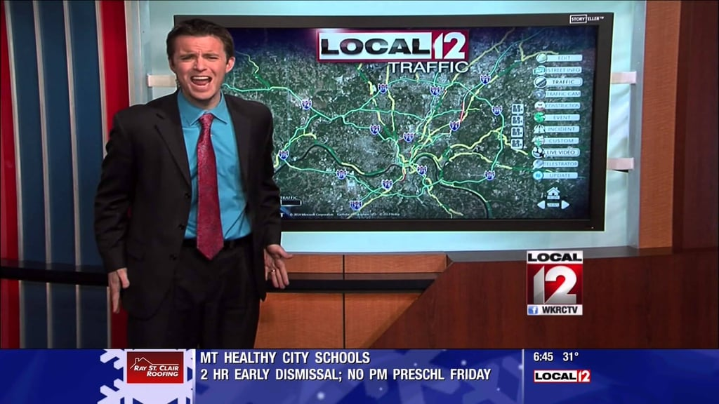 The Ultimate Parody by a Traffic Newscaster