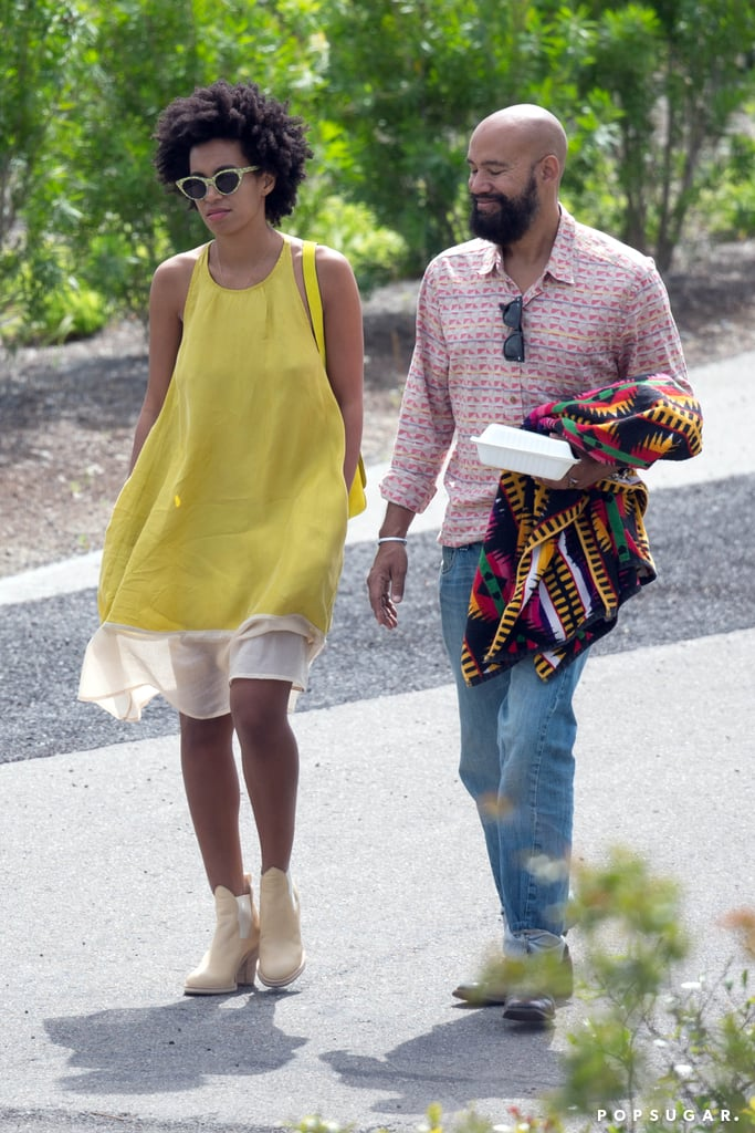 Solange Knowles Steps Out Smiling After Elevator Attack