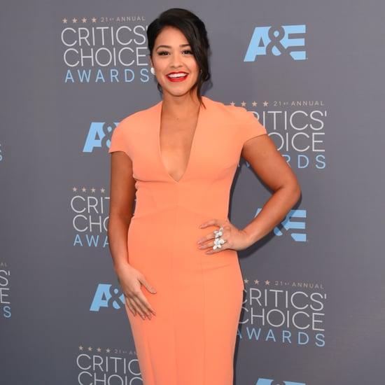 Gina Rodriguez's Dress at the Critics' Choice Awards 2016