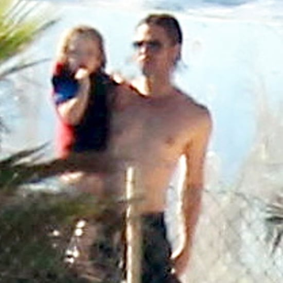 Brad Pitt Shirtless Pictures in Malta With Angelina Jolie