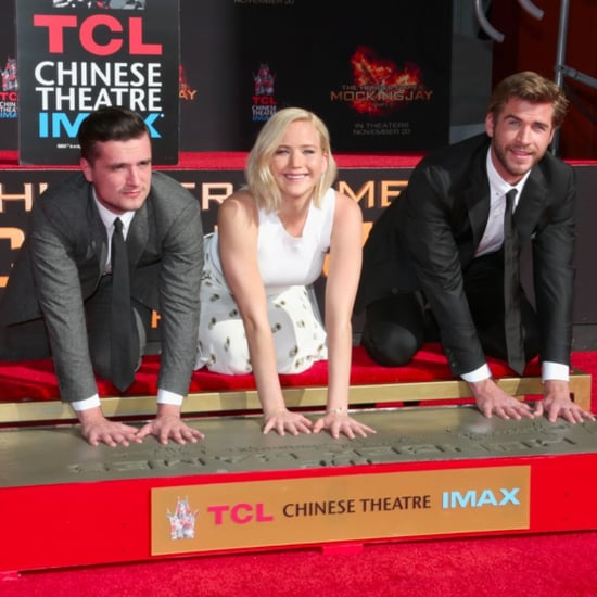 The Hunger Games Handprint Ceremony in LA | Pictures