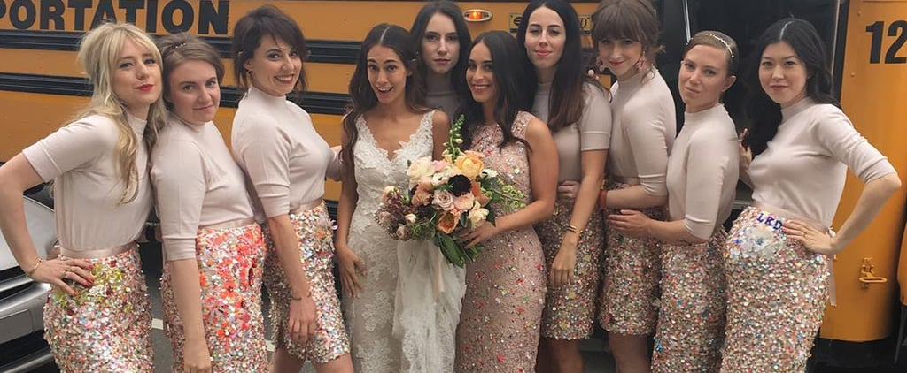 It's Really Hard Not to Be Jealous of Lena Dunham's Bridesmaid Look