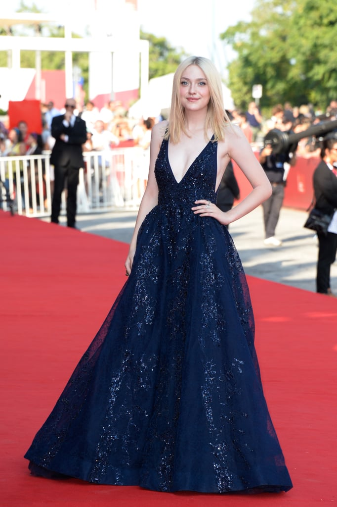 Dakota Fanning attended the Night Moves premiere at the Venice Film Festival.