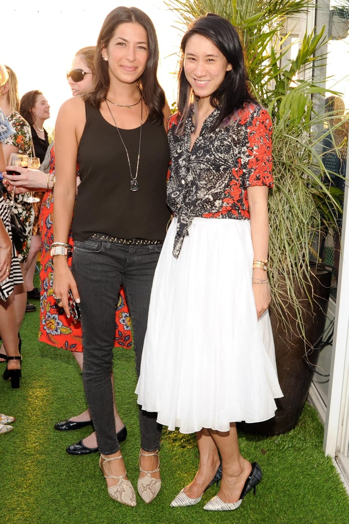 Rebecca Minkoff with Eva Chen at the Rebecca Minkoff dinner for the label's denim collection in New York.  Source: Billy Farrell/BFAnyc.com