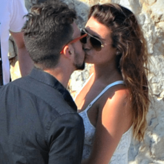 Lea Michele Kisses Matthew Paetz in Italy   Pictures
