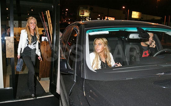 Lohan Gets Lucky with Ryan Phillippe
