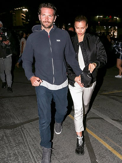 Bradley Cooper Holds Hands with Girlfriend Irina Shayk and Her Mom at Beyoncé's L.A. Concert