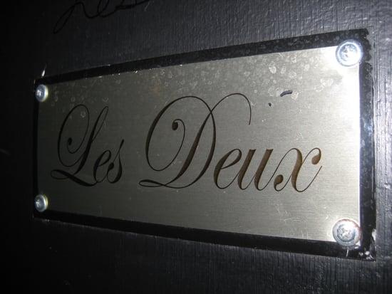Living It Up at Les Deux