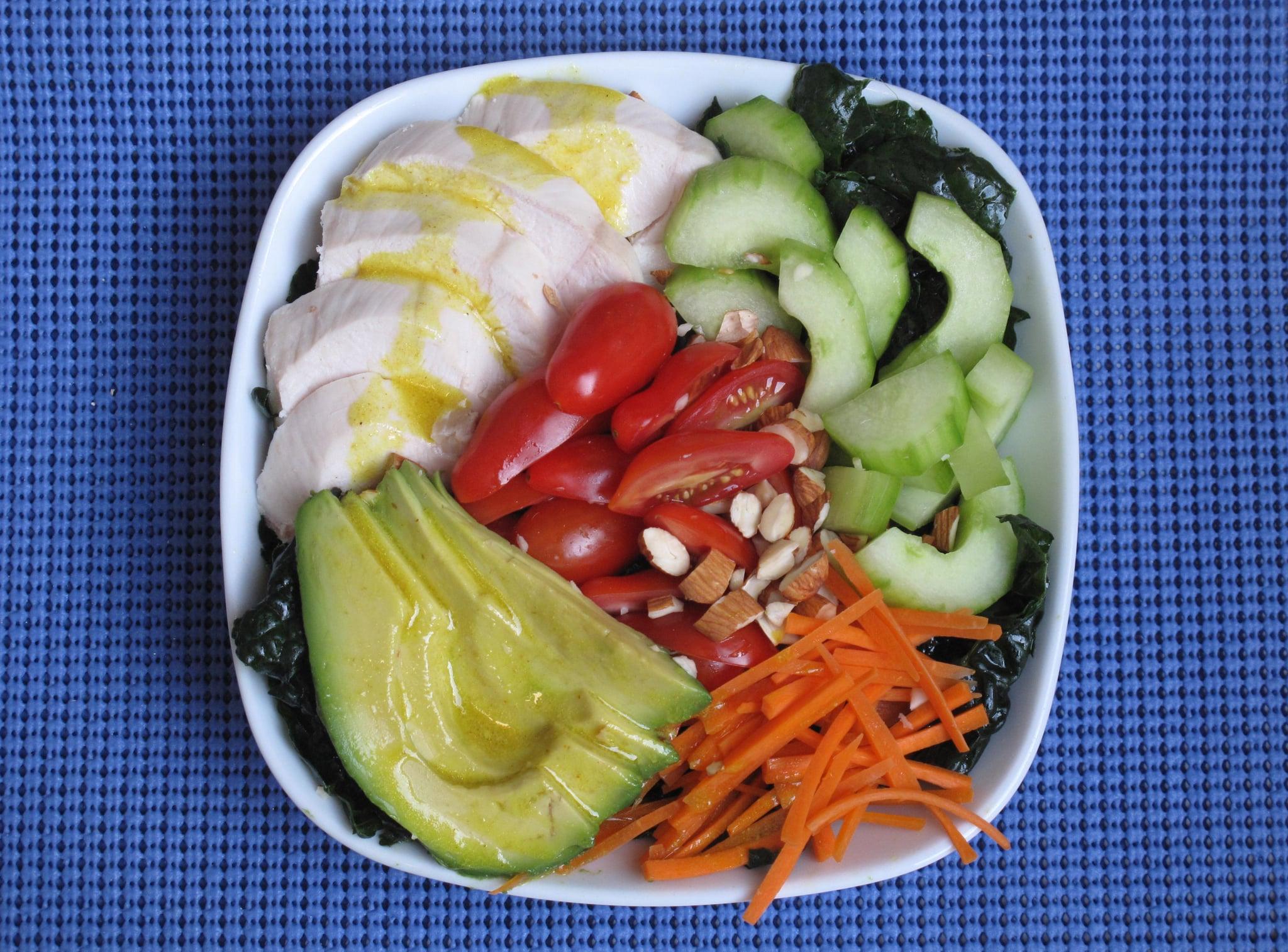 Chicken and Kale Salad With Lemon-Cumin Vinaigrette