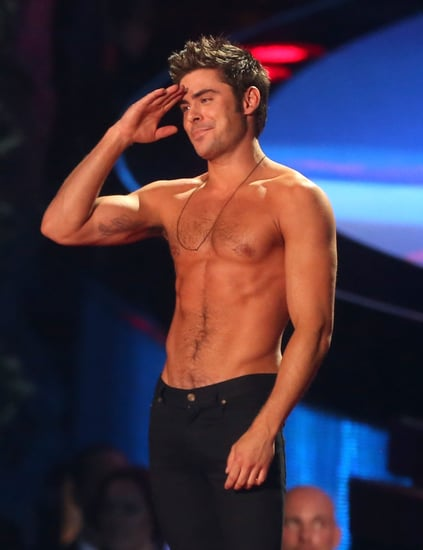 Today, We Salute Zac Efron's Impeccable Shirtless Body