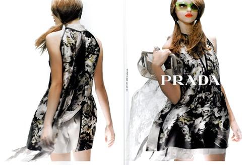 Fab Ad: Prada, Spring '10