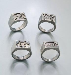 Space Invader Rings: Totally Geeky or Geek Chic?