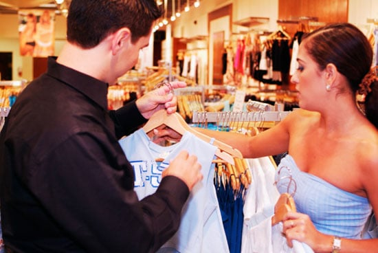 Where Do You Stand? Guys Buying You Clothes
