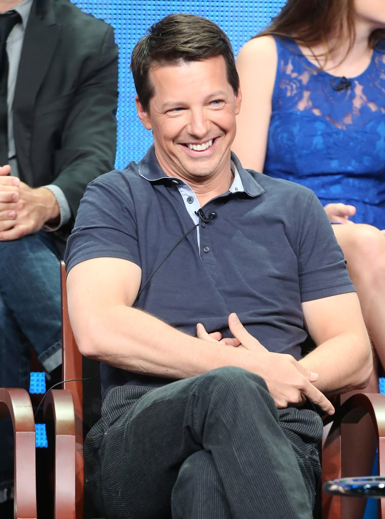 Sean Hayes spoke about Sean Saves the World.