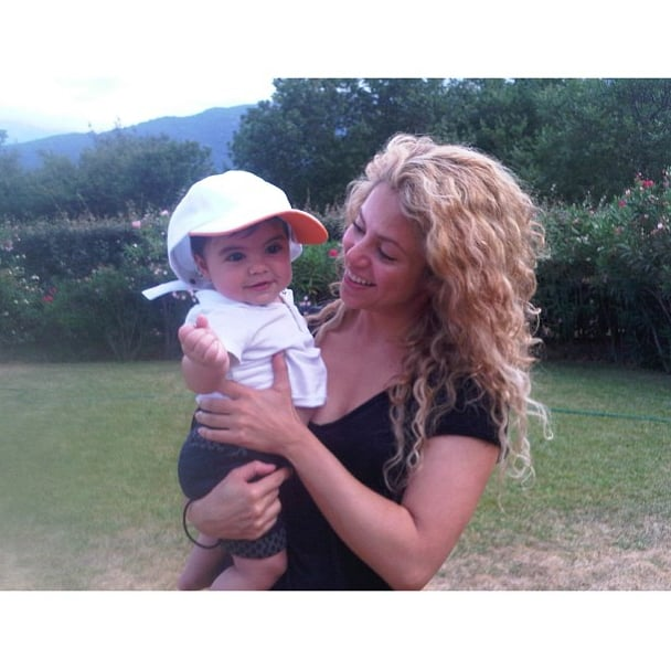Shakira had fun in the sun with her son, Milan. Source: Instagram user shakira
