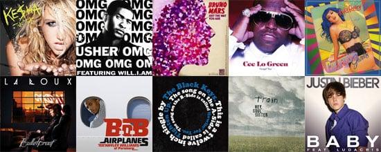 Best Pop Songs of 2010