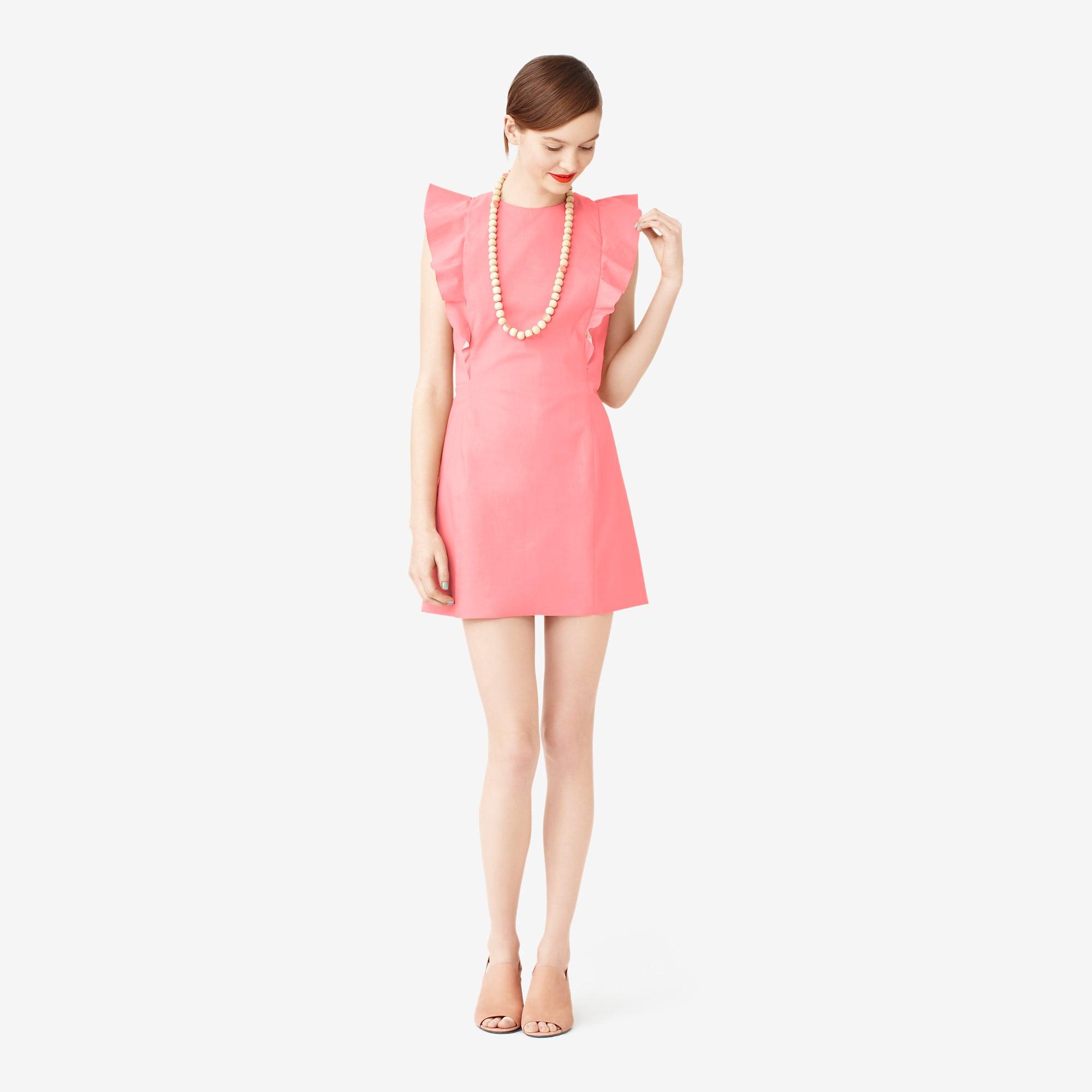 Kate Spade Saturday pink ruffle-sleeve dress ($170)