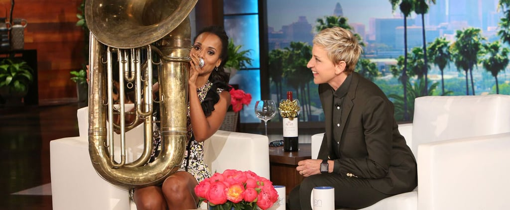 Kerry Washington Channels Her Inner Marching-Band Geek With a Wonderfully Weird Performance