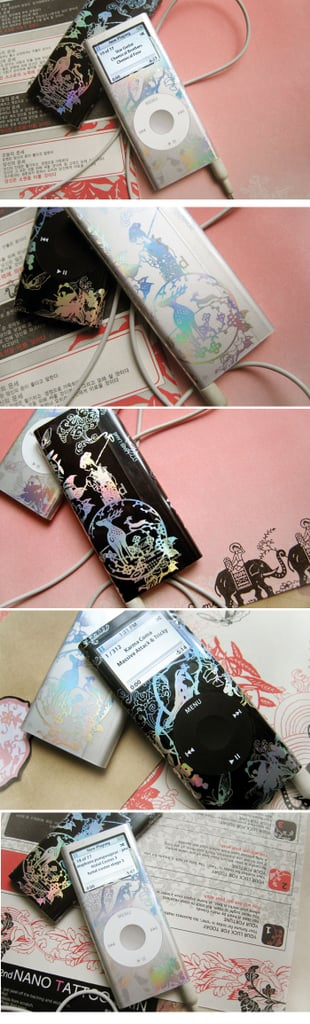 Chic and Feminine iPod Decals