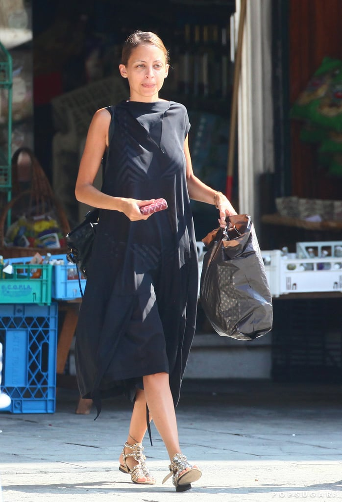 Nicole Richie did some shopping around town during her trip to Portofino, Italy.