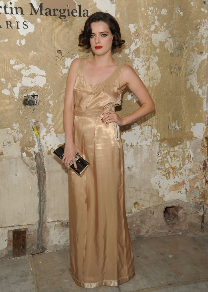 """On who he has in mind when he designs: """"My muse is lovely French actress Roxane Mesquida (pictured, at the Maison Martin Margiela For H&M launch party). Her effortless elegance and talent inspire me."""""""