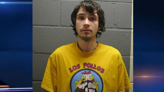When he was arrested, Kowalski was wearing a t-shirt inspired by the show. Source: NBC Chicago