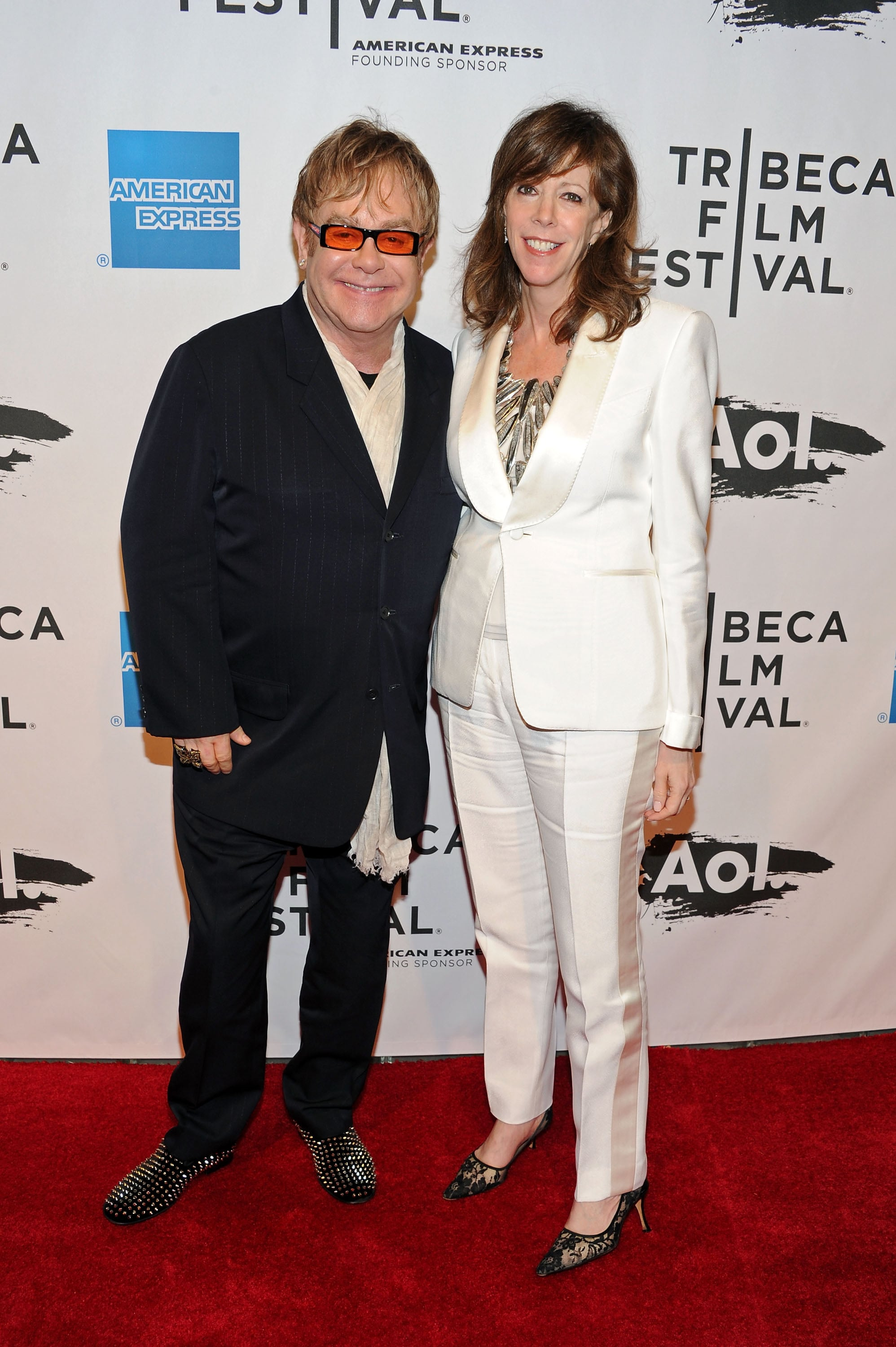 Elton John and Jane Rosenthal