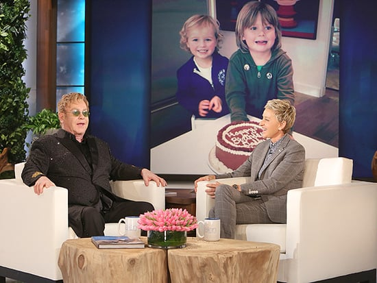 Elton John Says His Sons with Husband David Furnish Are the 'Greatest Thing In Our Lives'