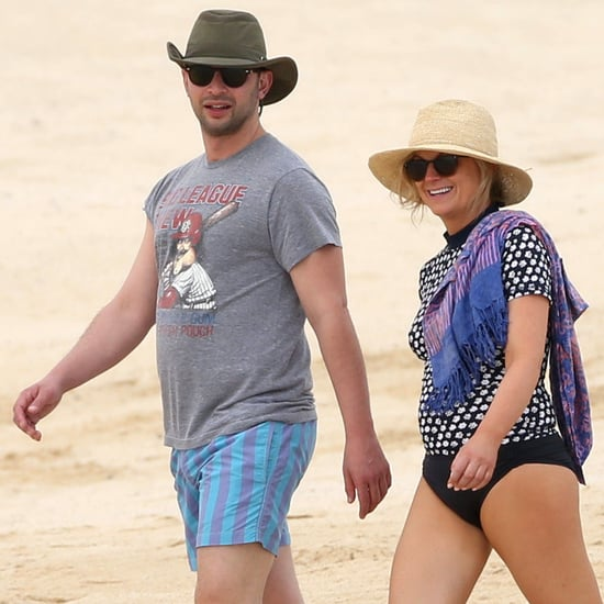 Amy Poehler and Nick Kroll's Beach Vacation   Pictures