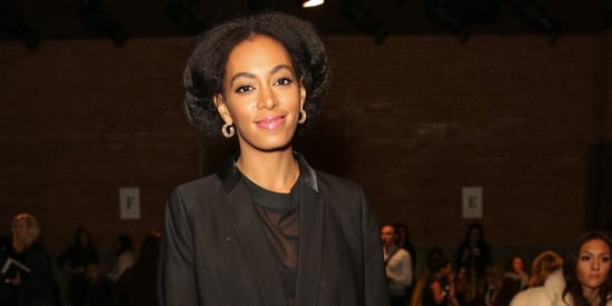 Solange Finally Shows Up At New York Fashion Week And Looks Fab Per Usual (PHOTOS)