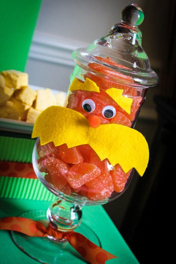 Lorax Candy Jar