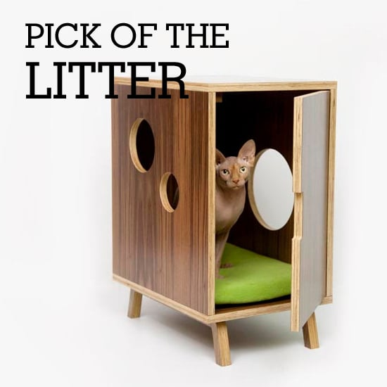 Fashionable Felines Fall For Stylishly Sweet Litter Boxes