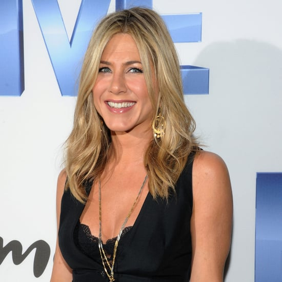 Jennifer Aniston and Justin Theroux at Five Premiere Pictures
