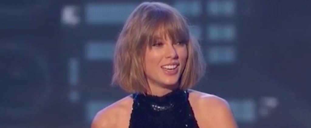 Taylor Swift Gives Calvin Harris a Sweet Shout-Out in Her iHeartRadio Music Awards Speech