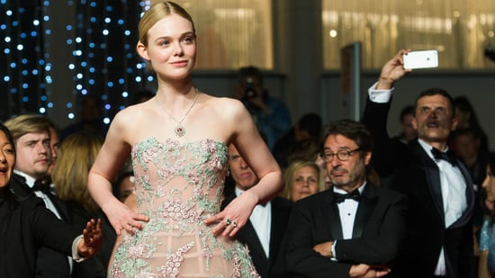 Elle Fanning Recreates Prom at Cannes After Missing Her Own -- See the Gorgeous Gown!