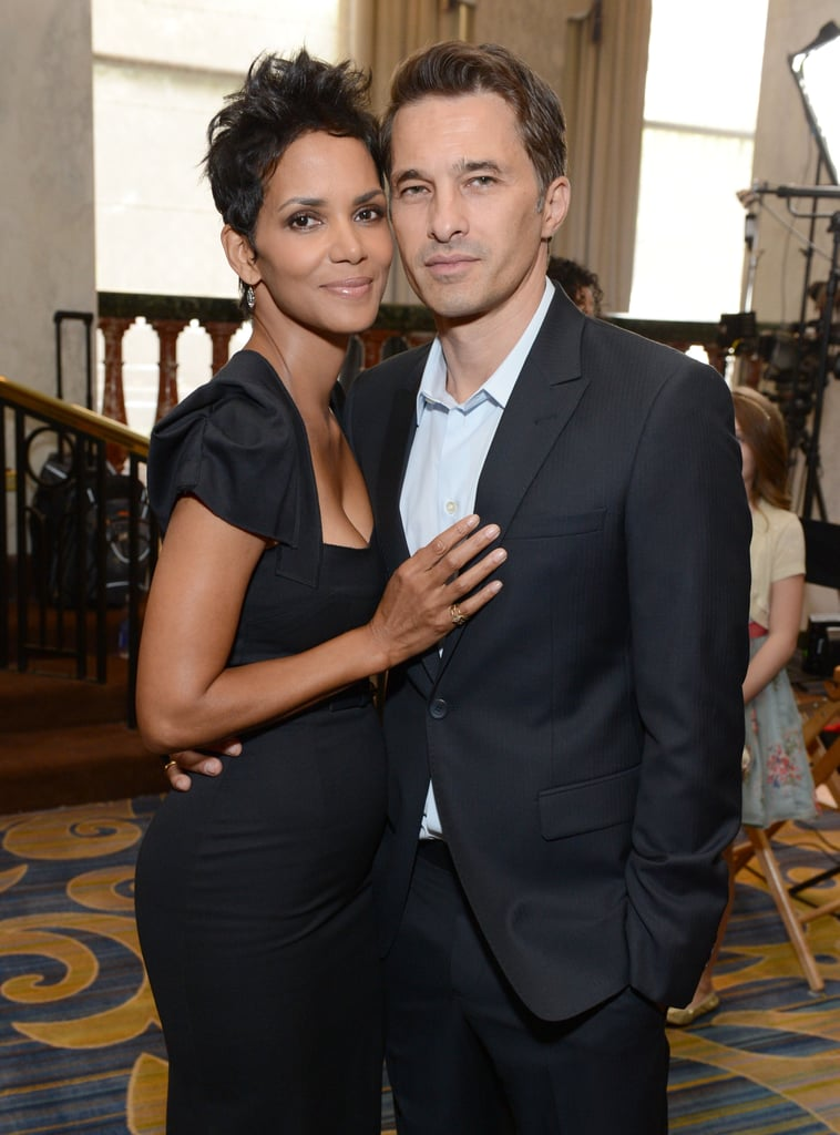 Halle Berry and Olivier Martinez attended the Variety party together.