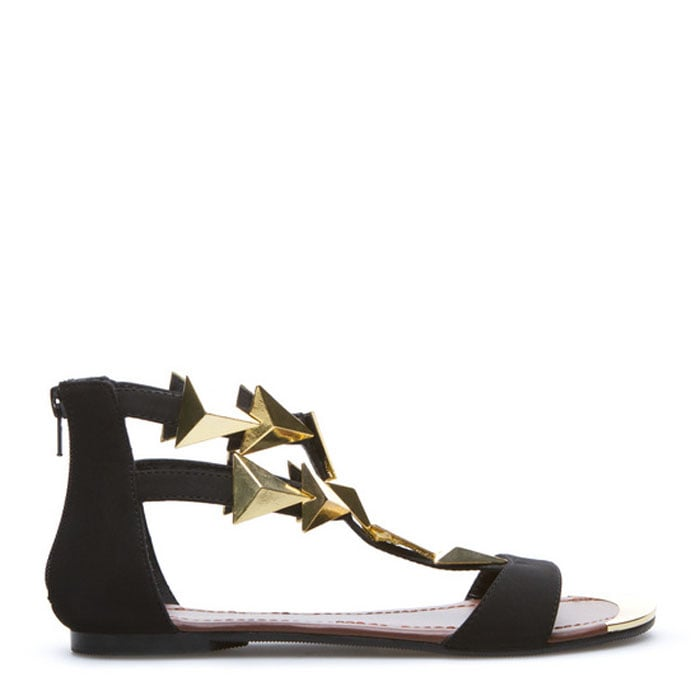 Catch a shooting star with this black and gold ShoeDazzle find ($48).