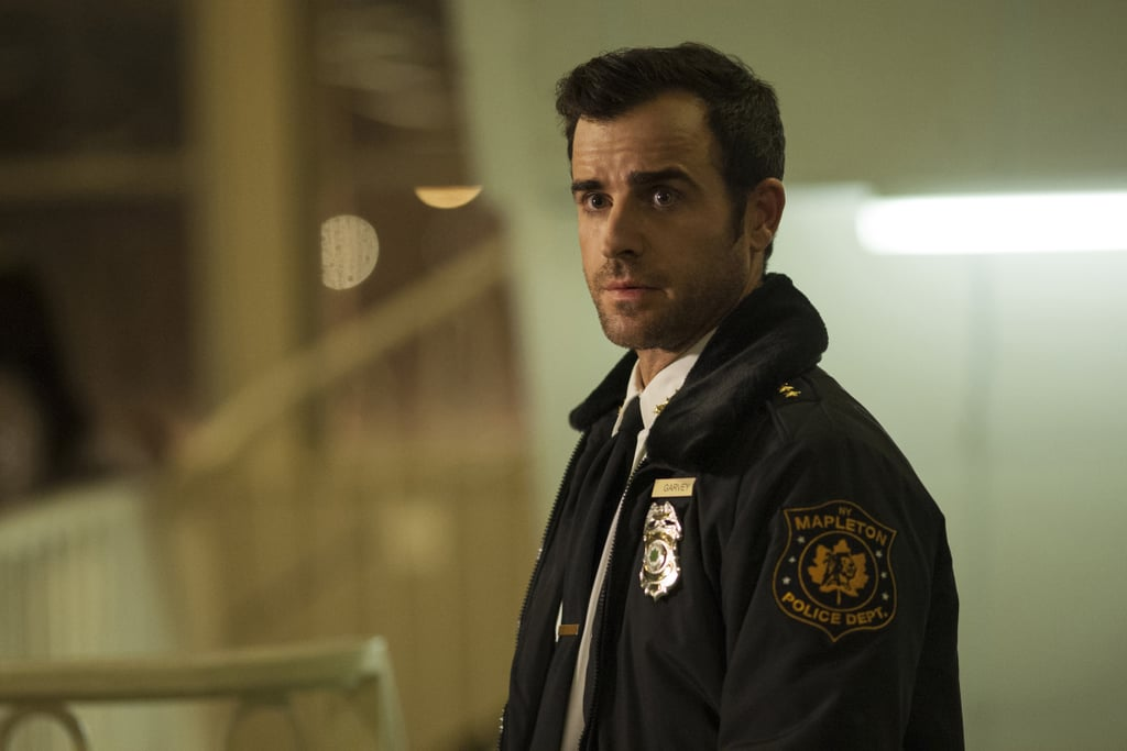 First, he looks hot in a police uniform.
